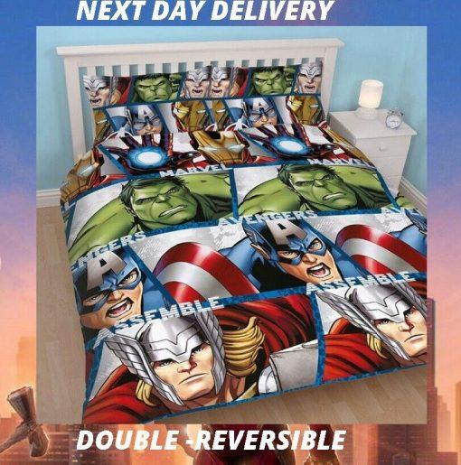Marvel Avengers Bedding Cover