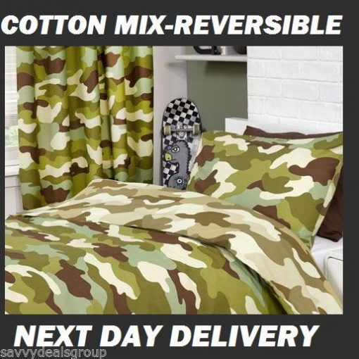 Army Camouflage Kids Quilt cover