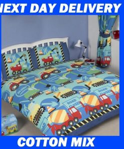 Boys Truck Construction Doona
