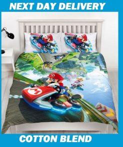 Super Mario Queen Quilt