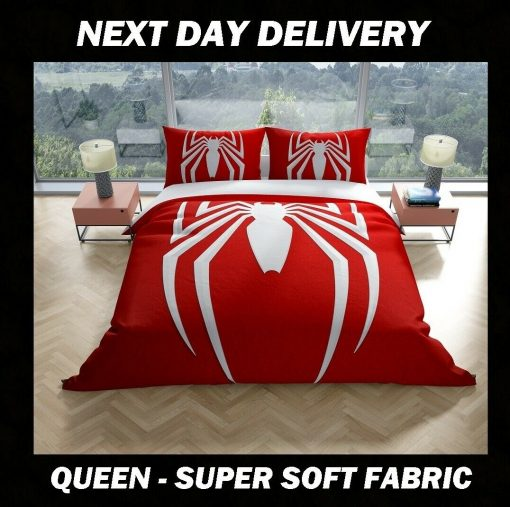 Spiderman Queen Quilt cover