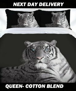 Tiger Animal Quilt Cover