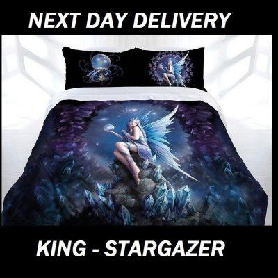 Anne Stokes Stargazer King Doona Cover Set Duvet Quilt