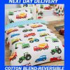 Boys Truck Construction Quilt