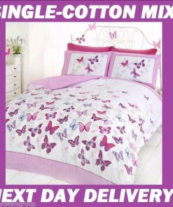 Butterfly Girls Quilt Cover