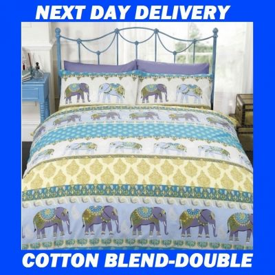 Jaipur Elephant Double Kids Licensed Quilt Duvet Bedding Cover Sets