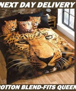Leopard Animal Kids Quilt