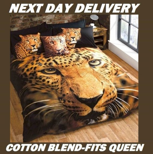 Leopard Animal Kids Quilt