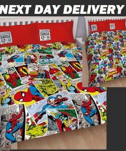 Marvel Avengers Comics Quilt