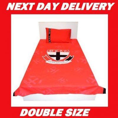 St. Kilda Saints Double Licensed Quilt Duvet Bedding Cover Sets