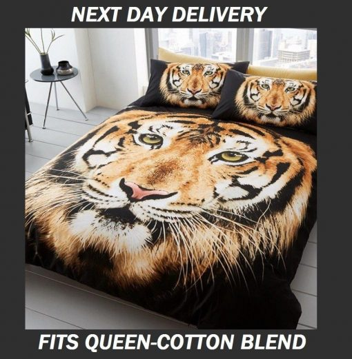 Tiger Queen Quilt Doona cover set