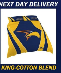 West Coast Eagles 2018 King Doona Quilt Duvet Bedding Cover