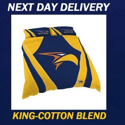 West Coast Eagles 2018 King Doona Quilt Duvet Bedding Cover